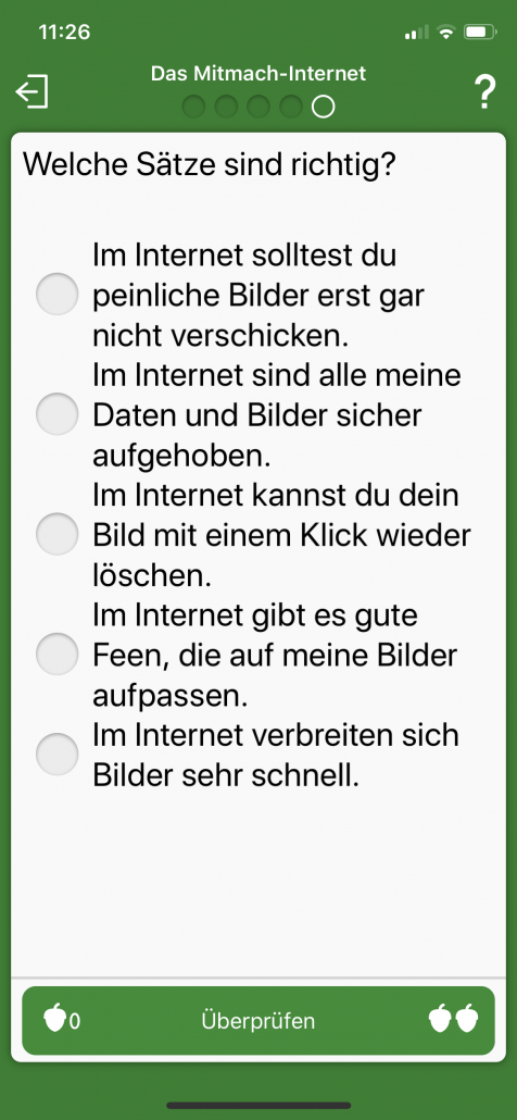 A1 Internet Guide für Kids